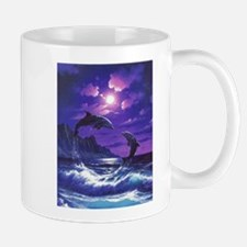 dolphins jumping Mugs