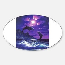 dolphins jumping Decal