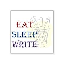 Eat Sleep Write Sticker