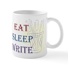 Eat Sleep Write Mugs