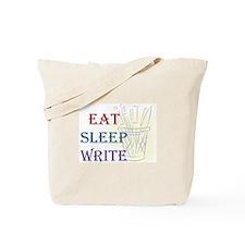 Eat Sleep Write Tote Bag