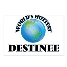 World's Hottest Destinee Postcards (Package of 8)