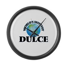 World's Hottest Dulce Large Wall Clock