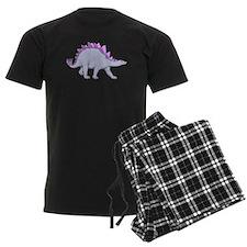 Purple Stegosaurus Pajamas