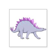 Purple Stegosaurus Sticker