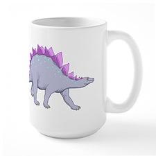 Purple Stegosaurus Mugs