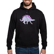 Purple Stegosaurus Hoodie