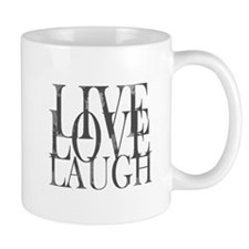 Live Love Laugh Inspirational Quote Mugs