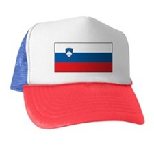 Slovenia Flag Trucker Hat