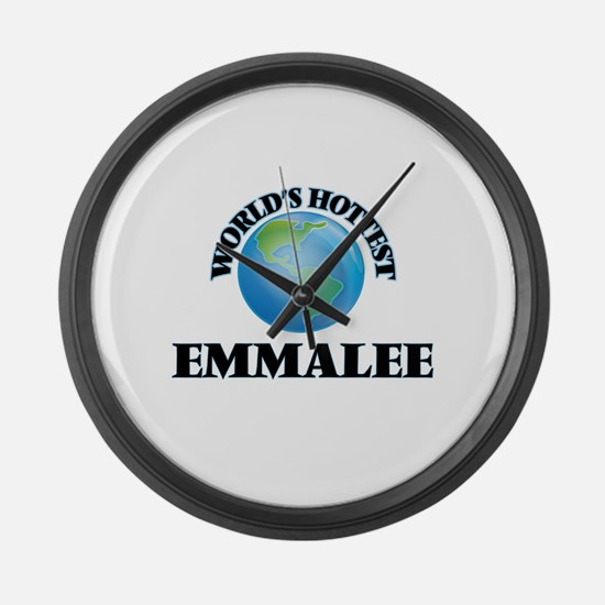 World's Hottest Emmalee Large Wall Clock