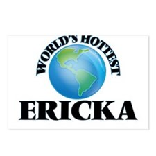World's Hottest Ericka Postcards (Package of 8)
