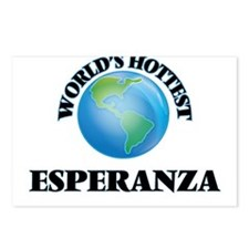 World's Hottest Esperanza Postcards (Package of 8)