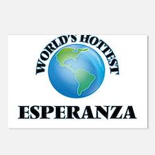 World's Hottest Esperanza Postcards (Package of 8)