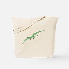 Green Pterodactyl Tote Bag