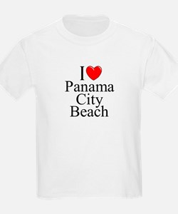 """I Love Panama City Beach"" T-Shirt"