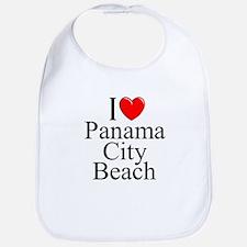 """I Love Panama City Beach"" Bib"