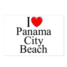 """I Love Panama City Beach"" Postcards (Package of 8"