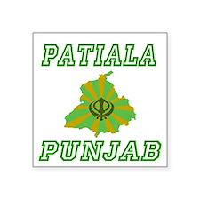 """Cute Punjab Square Sticker 3"""" x 3"""""""