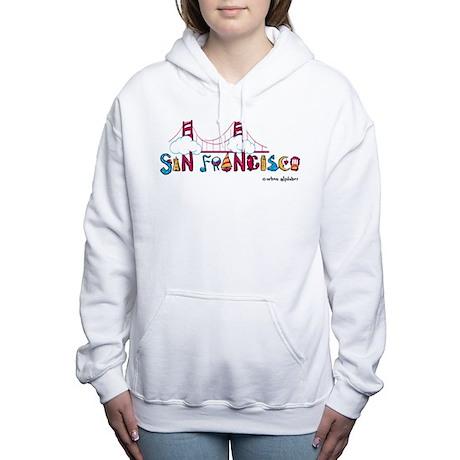 Cafepress - San Francisco - Women's Hooded Sweatshirt