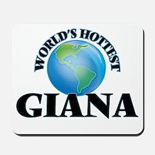 World's Hottest Giana Mousepad