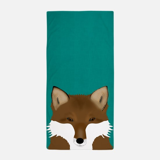Foxy Beach Towel