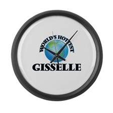 World's Hottest Gisselle Large Wall Clock
