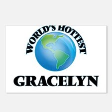 World's Hottest Gracelyn Postcards (Package of 8)