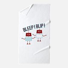 Bleep Blip Beach Towel