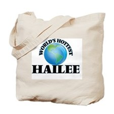 World's Hottest Hailee Tote Bag