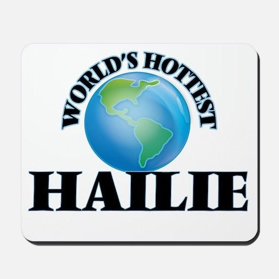 World's Hottest Hailie Mousepad