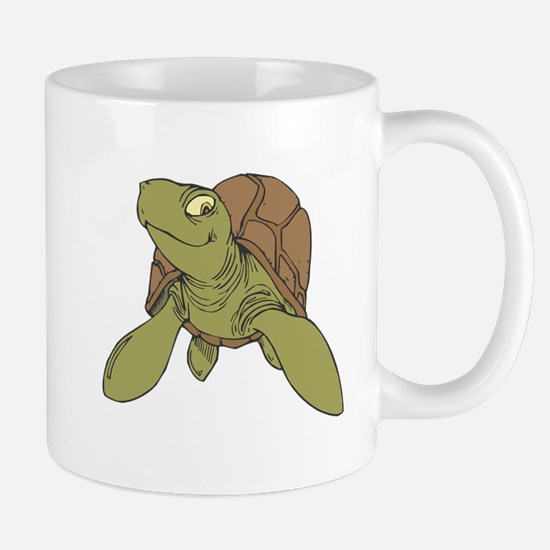 Grinning Sea Turtle Mug