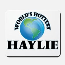 World's Hottest Haylie Mousepad
