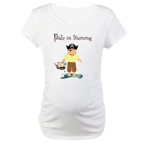 Pirate boy Maternity T-Shirt