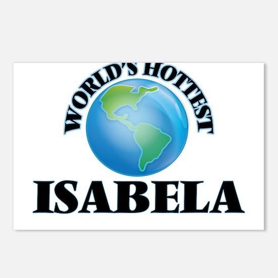 World's Hottest Isabela Postcards (Package of 8)