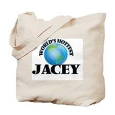 World's Hottest Jacey Tote Bag