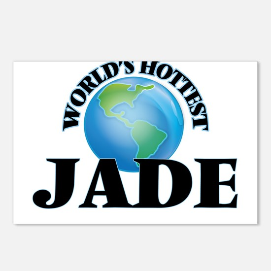 World's Hottest Jade Postcards (Package of 8)