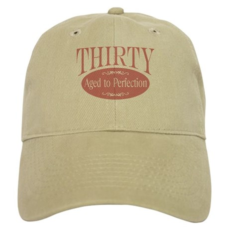 30th aged to perfection Cap