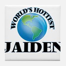 World's Hottest Jaiden Tile Coaster