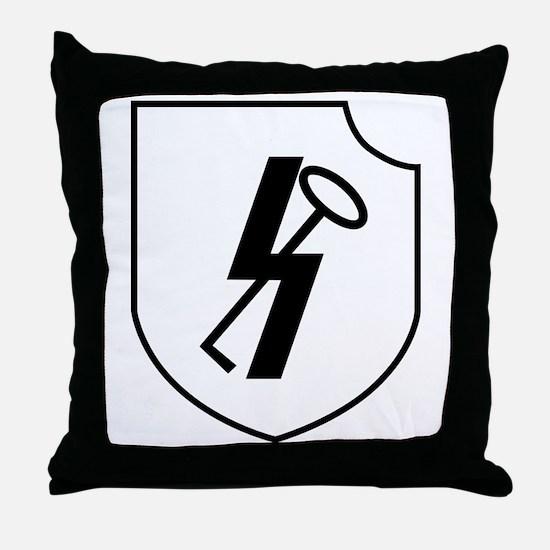 12th SS Panzer Division Hitlerjugend Throw Pillow