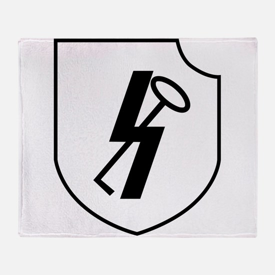 12th SS Panzer Division Hitlerjugend Throw Blanket