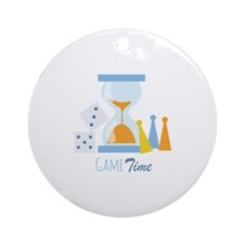 Game Time Ornament (Round)