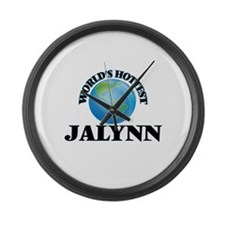 World's Hottest Jalynn Large Wall Clock