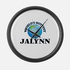 World's Hottest Jalynn Large Wall Clock