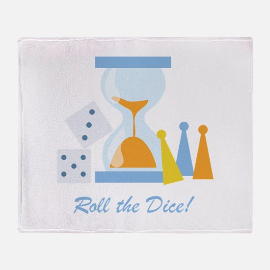 Roll The Dice! Throw Blanket