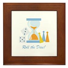 Roll The Dice! Framed Tile