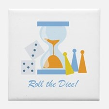 Roll The Dice! Tile Coaster