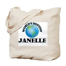 World's Hottest Janelle Tote Bag