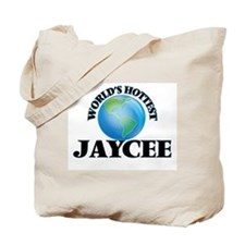 World's Hottest Jaycee Tote Bag