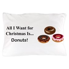 Christmas Donuts Pillow Case