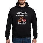Christmas Donuts Hoodie (dark)